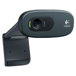 Logitech HD Webcam C270 (960-000636) (черный)